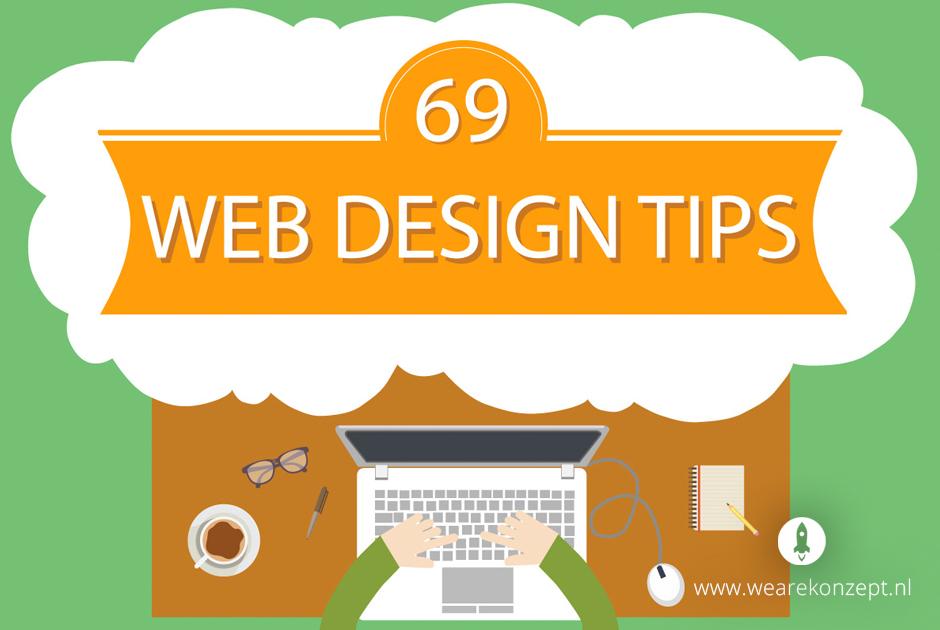 69 tips om het design van je website te verbeteren - We Are Konzept | internetbureau - Nijmegen