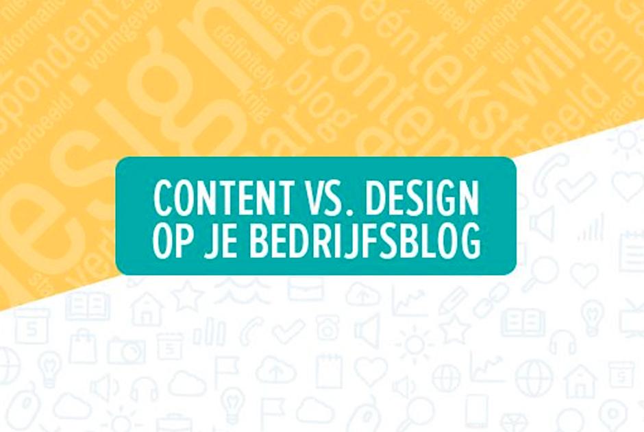 Content versus design: 5 richtlijnen voor een gouden combi