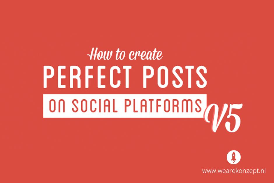 Handige tips & tricks voor de beste posts op 10 social media